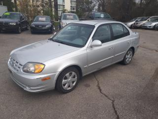Used 2005 Hyundai Accent GL w/Comfort Pkg for sale in Guelph, ON
