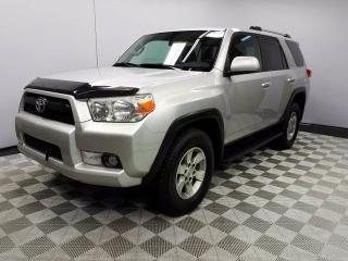 Used 2011 Toyota 4Runner SR5 V6 - Local One Owner Trade In | No Accidents | Parking Sensors | Climate Control with AC | Running Boards | Roof Rails | 17 Inch Wheels | Low KMs | Very Well Looked After | Very Reliable | Remote Starter for sale in Edmonton, AB