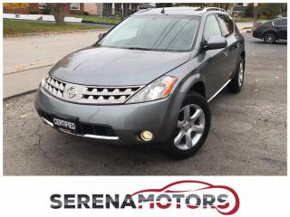 Used 2007 Nissan Murano SE | AWD | ONE OWNER | NO ACCIDENTS | LOW KM for sale in Mississauga, ON