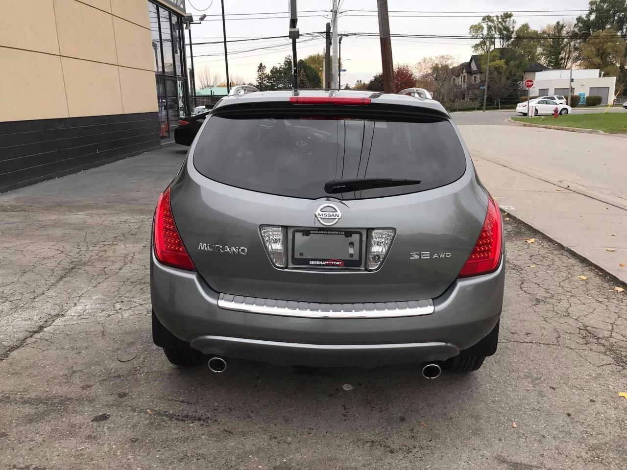 Used 2007 Nissan Murano Se Awd One Owner No Accidents Low Km Fuel Filter 905 273 9739