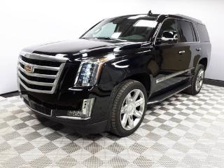 Used 2017 Cadillac Escalade PREMIUM TRIM | Leather Interior | Heated & Cooled Seats | NAV | LOW KMS! for sale in Edmonton, AB