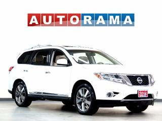 Used 2014 Nissan Pathfinder PLATINUM NAV LEATHER SUNROOF 7 PASS AWD BACKUP CAM for sale in North York, ON