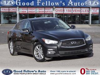 Used 2014 Infiniti Q50 Premium for sale in North York, ON