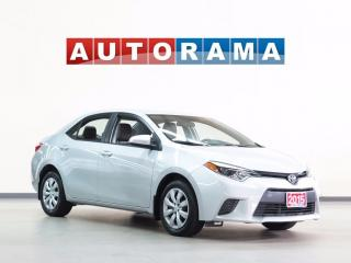 Used 2015 Toyota Corolla BLUETOOTH for sale in North York, ON