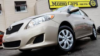 Used 2010 Toyota Corolla CE! Htd Mirrors+AuxIn! ONLY $206/bi-weekly! for sale in St Catharines, ON