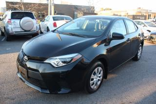 Used 2014 Toyota Corolla LOW KMS for sale in North York, ON