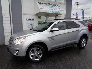 Used 2015 Chevrolet Equinox LT GFX AWD, Leather, Heated Seats, Rev Camera for sale in Langley, BC
