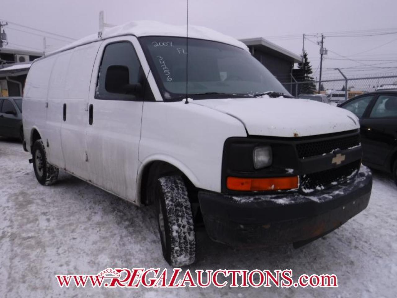 Photo of White 2007 Chevrolet G2500 VANS  CARGO VAN