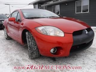Used 2007 Mitsubishi ECLIPSE GT 2D COUPE for sale in Calgary, AB