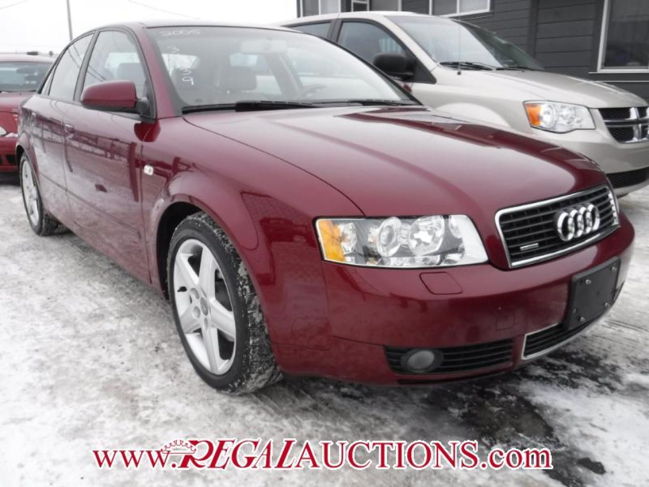 Photo of Red 2005 Audi A4  4D SEDAN QTRO 1.8T