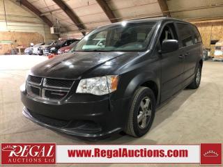 Used 2012 Dodge Grand Caravan SE for sale in Calgary, AB