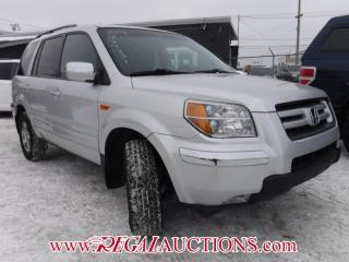 Used 2008 Honda Pilot 4D Utility 4WD for sale in Calgary, AB