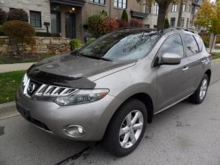 Used 2010 Nissan Murano SL-AWD,DUAL SUNROOF, ONE OWNER,CERTIFIED for sale in Etobicoke, ON