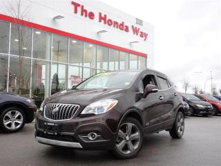 Used 2014 Buick Encore Leather AWD for sale in Abbotsford, BC