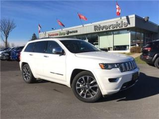 Used 2017 Jeep Grand Cherokee Overland for sale in Cornwall, ON