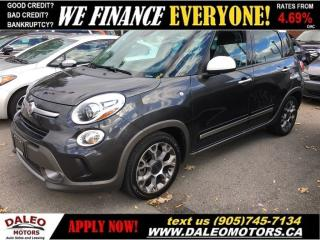Used 2014 Fiat 500 L Trekking for sale in Hamilton, ON