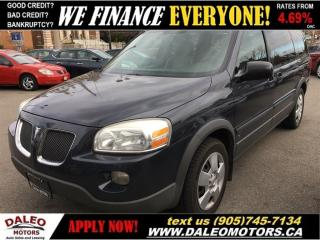 Used 2009 Pontiac Montana Sv6 TEST DRIVE TODAY! for sale in Hamilton, ON