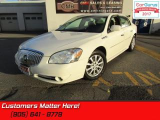 Used 2011 Buick Lucerne CXL  NEW TIRES, LEATHER, POWER HEATED SEATS for sale in St Catharines, ON