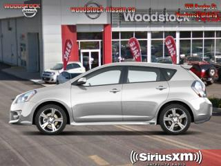 Used 2010 Pontiac Vibe Base  - OnStar -  SiriusXM -  CD Player for sale in Woodstock, ON