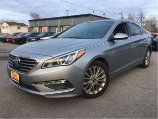 Used 2015 Hyundai Sonata Limited LEATHER NAVIGATION PANORAMA ROOF for sale in St Catharines, ON