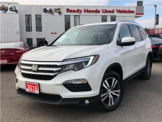 Used 2016 Honda Pilot EX-L NAVI - 8 Passenger - Leather - Roof for sale in Mississauga, ON