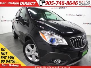 Used 2016 Buick Encore | LOW KM'S| LEATHER| BACK UP CAMERA| for sale in Burlington, ON
