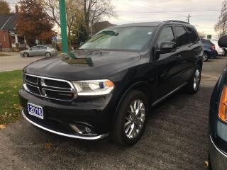 Used 2016 Dodge Durango Limited for sale in Belmont, ON