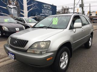 Used 2000 Lexus RX 300 for sale in Scarborough, ON