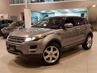 Used 2013 Land Rover Evoque PURE PLUS-PANO ROOF-CAMERA-NO ACCIDENTS for sale in York, ON