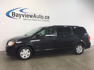 Used 2013 Dodge Grand Caravan SE- 3.6L|STOW 'N GO|3 ZONE CLIMATE|ECO MODE! for sale in Belleville, ON