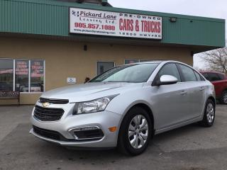 Used 2016 Chevrolet Cruze Limited 1LT NO PAYMENTS FOR 6 MONTHS! TAKE  ADVANTAGE! ONLY $239.88 MONTHLY! $0 DOWN! for sale in Bolton, ON