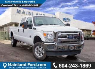Used 2016 Ford F-350 XLT NO ACCIDENTS, LOCAL, LOW KMS for sale in Surrey, BC