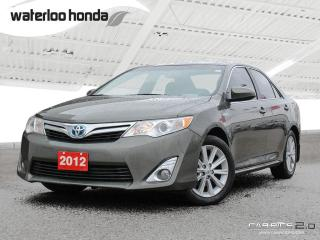 Used 2012 Toyota Camry HYBRID XLE Bluetooth, Hybrid with Michelin Snow Tires for sale in Waterloo, ON