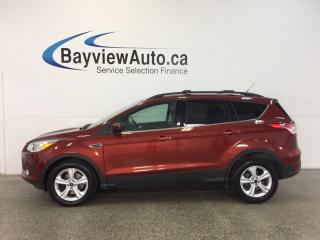 Used 2014 Ford Escape SE- 4WD|ECOBOOST|PANOROOF|HTD STS|REV CAM|SYNC! for sale in Belleville, ON