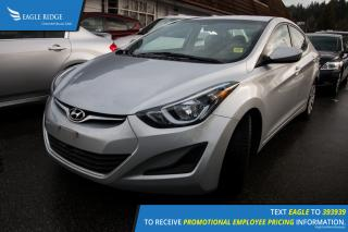 Used 2014 Hyundai Elantra Heated Seats, Hands Free Calling, Cruise Control for sale in Port Coquitlam, BC