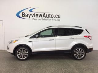 Used 2016 Ford Escape SE- ECOBOOST|4WD|HTD STS|REV CAM|SYNC|4500 KM! for sale in Belleville, ON