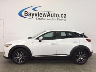 Used 2016 Mazda CX-3 GT- AWD|ROOF|LTHR|REV CAM|BOSE|BLUETOOTH|CRUISE! for sale in Belleville, ON