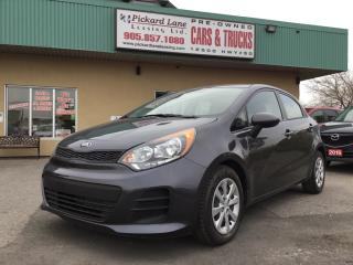 Used 2017 Kia Rio5 LX+ $94.03 BI WEEKLY ! $0 DOWN! CERTIFIED! for sale in Bolton, ON