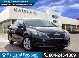 Used 2016 Kia Forte 1.8L LX NO ACCIDENTS for sale in Surrey, BC