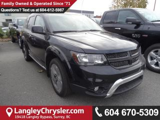New 2018 Dodge Journey Crossroad Equipment Group & MOPAR All Weather Group for sale in Surrey, BC