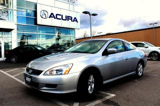 Used 2007 Honda Accord Coupe EX-L at for sale in Langley, BC