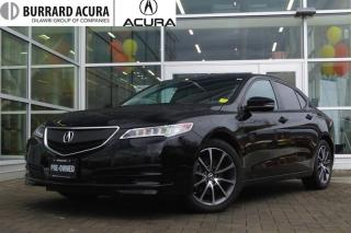 Used 2016 Acura TLX 3.5L SH-AWD w/Tech Pkg Navigation/Blackout Package! for sale in Vancouver, BC