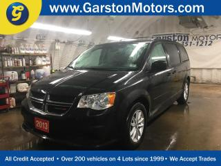 Used 2013 Dodge Grand Caravan SXT PLUS*DUAL ROW STOW N GO*REAR DVD PLAYER*U CONNECT PHONE*TRI ZONE CLIMATE CONTROL w/REAR AIR CONTROL*BACK UP CAMERA* for sale in Cambridge, ON