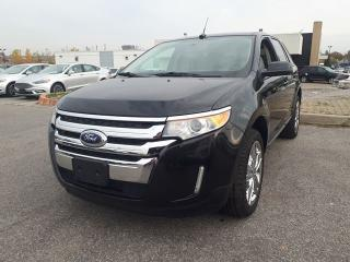 Used 2014 Ford Edge SEL, AWD, $77/Wk,  Liftgate, NAV, Leather, Roof for sale in Scarborough, ON