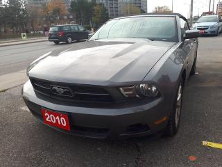 Used 2010 Ford Mustang V6/4.0 L /Convertable for sale in Scarborough, ON