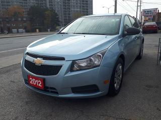 Used 2012 Chevrolet Cruze LS+ w/1SB/GAS SAVER for sale in Scarborough, ON