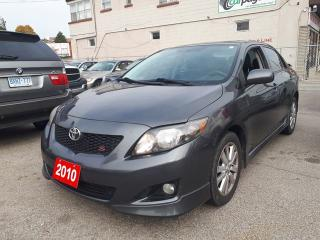 Used 2010 Toyota Corolla S-LEATHER/SUNROOF for sale in Scarborough, ON