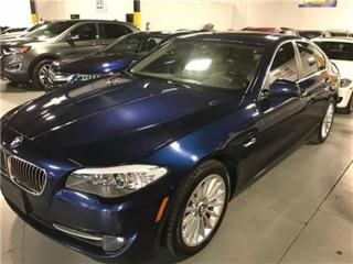 Used 2013 BMW 5 Series xDrive EXECUTIVE PKG NAVIGATION for sale in Mississauga, ON