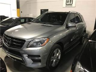 Used 2014 Mercedes-Benz ML-Class BlueTEC NAVIGATION PANOROOF for sale in Mississauga, ON