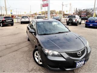 Used 2006 Mazda MAZDA3 AUTO GX SUNROOF ALLOY NO RUST PL PW PM A/C for sale in Oakville, ON